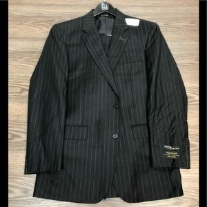 Jos A Bank Signature Gold NWT Black Suit 40L